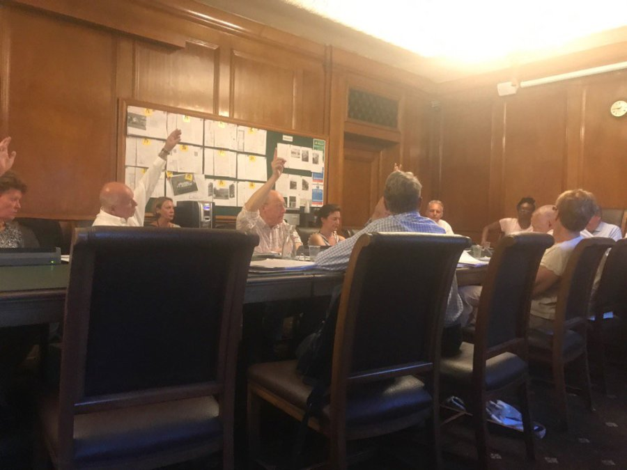 Tory councillors at the Planning Commiittee vote to cut affordable housing